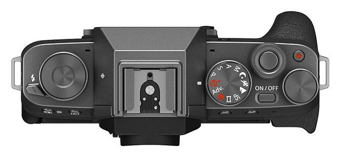 Fujifilm X-T200 Top Down View
