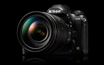 Nikon D780 on Black Background