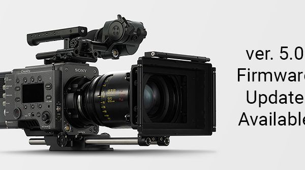 Sony VENICE Firmware 5.0 Update Now Available