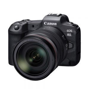 Canon EOS R5 with RF 24-105mm F4 L IS USM