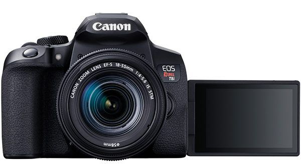 The EOS Rebel T8i: the most powerful Canon Rebel yet