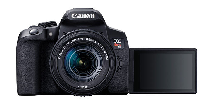 Canon EOS Rebel T8i DSLR
