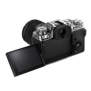 Fujifilm X-T4 Back Showing Vari-Angle Touchscreen