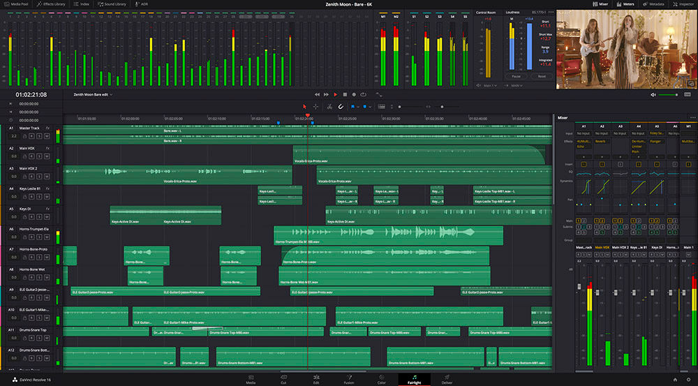 DaVinci-Resolve-Fairlight