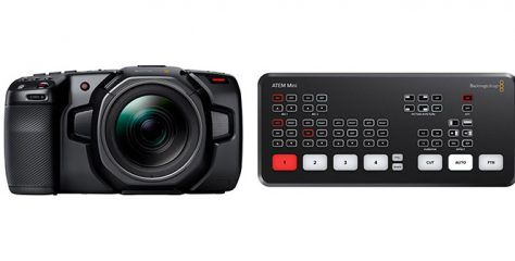 Blackmagic Design firmware updates for Pocket Cinema Cameras & ATEM Mini