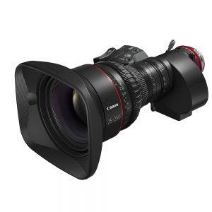 CINE-SERVO 25-250mm T2.95–3.95 EF PL Lens