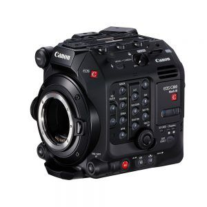 Canon C300 Mark III Controls