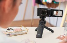 Sony ZV-1 Camera shooting a beauty video