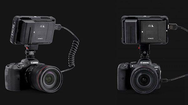 Atomos records 4K 10-bit 422 ProRes or DNx from Canon EOS R5 & R6
