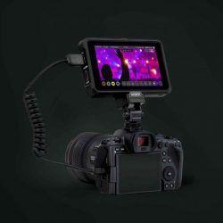 Atomos Recorder on Canon EOS R5
