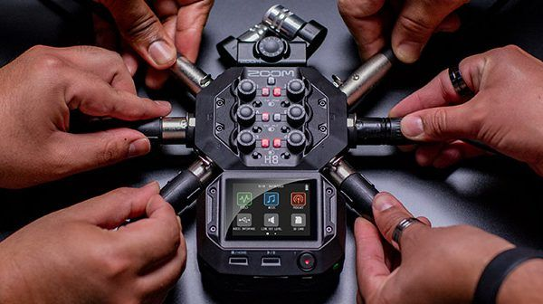 Zoom H8 Handy Recorder: Portable audio capture on a whole new level