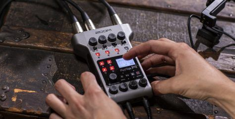 The new Zoom PodTrak P4: the ultimate podcast audio recorder