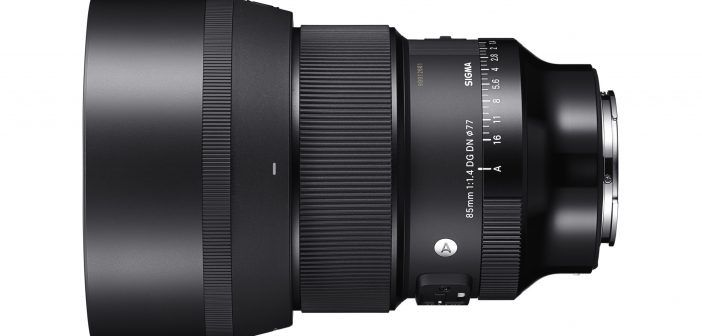 Sigma 85mm f/1.4 ART prime lens