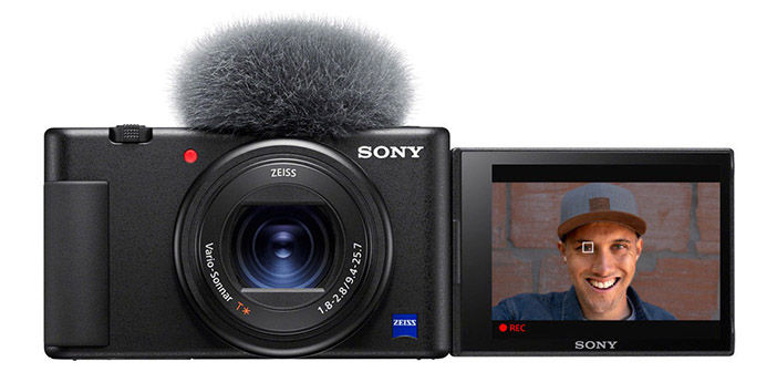 Sony Imaging Edge Webcam showing Sony Z-V1 Camera