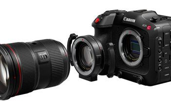 Canon EOS C70 with Lens and Speedbooster