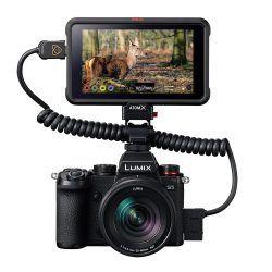 Lumix S5 with Atomos Ninja V Monitor