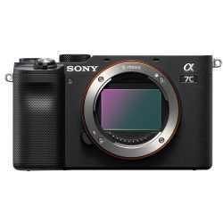 Sony a7C Camera Showing Sensor