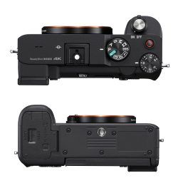 Sony a7C Top and Bottom View
