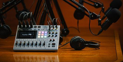 Podtrak P8: Zoom's new 13 track podcast production studio