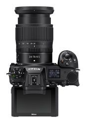 Nikon Z 6 II Top View with 24-70 Lens