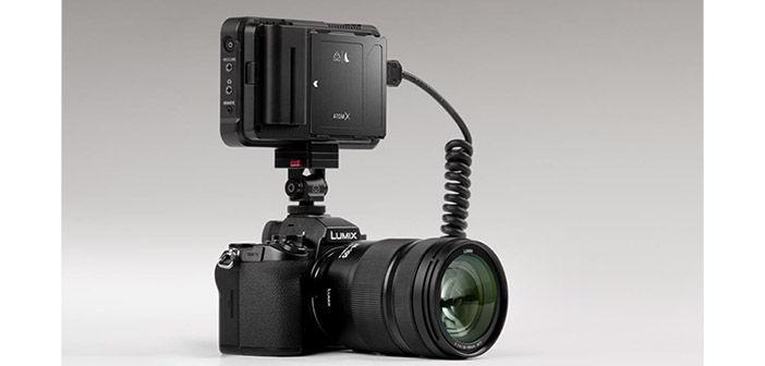 Atomos Ninja V on Lumix S5 Camera