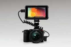 Atomos Ninja V on Lumix S5 Camera Front
