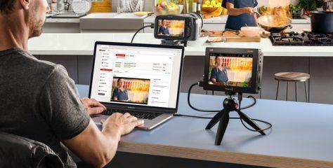 Blackmagic Video Assist ver. 3.3 firmware update adds webcam support