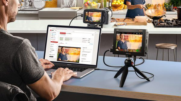 Blackmagic Video Assist ver. 3.3 firmware update adds webcam support