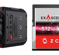 Exascend CFast 2.0 Memory Cards for Z CAM Cameras