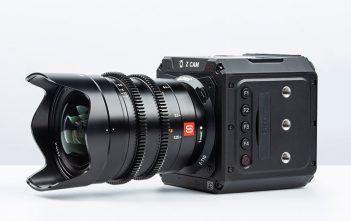 Viltrox E-T10 on Z CAM E2-F6 with Sony E-Mount Lens Attached
