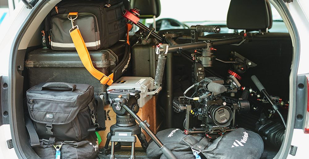 Video Gear for Bojan Uzicanin photoshoot