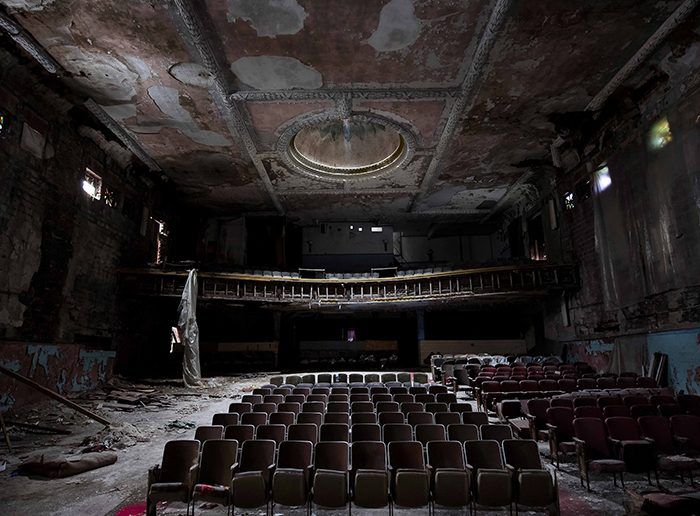 Abandoned Theatre Photo Pamela Julian