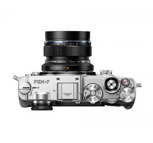 Olympus PEN-F Mirrorless Top View
