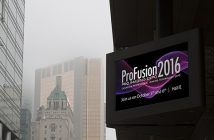 ProFusion Expo 2016 Sign