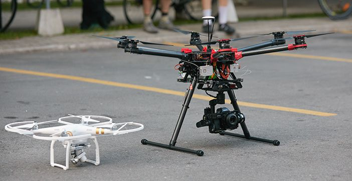 S900 and Phantom 3