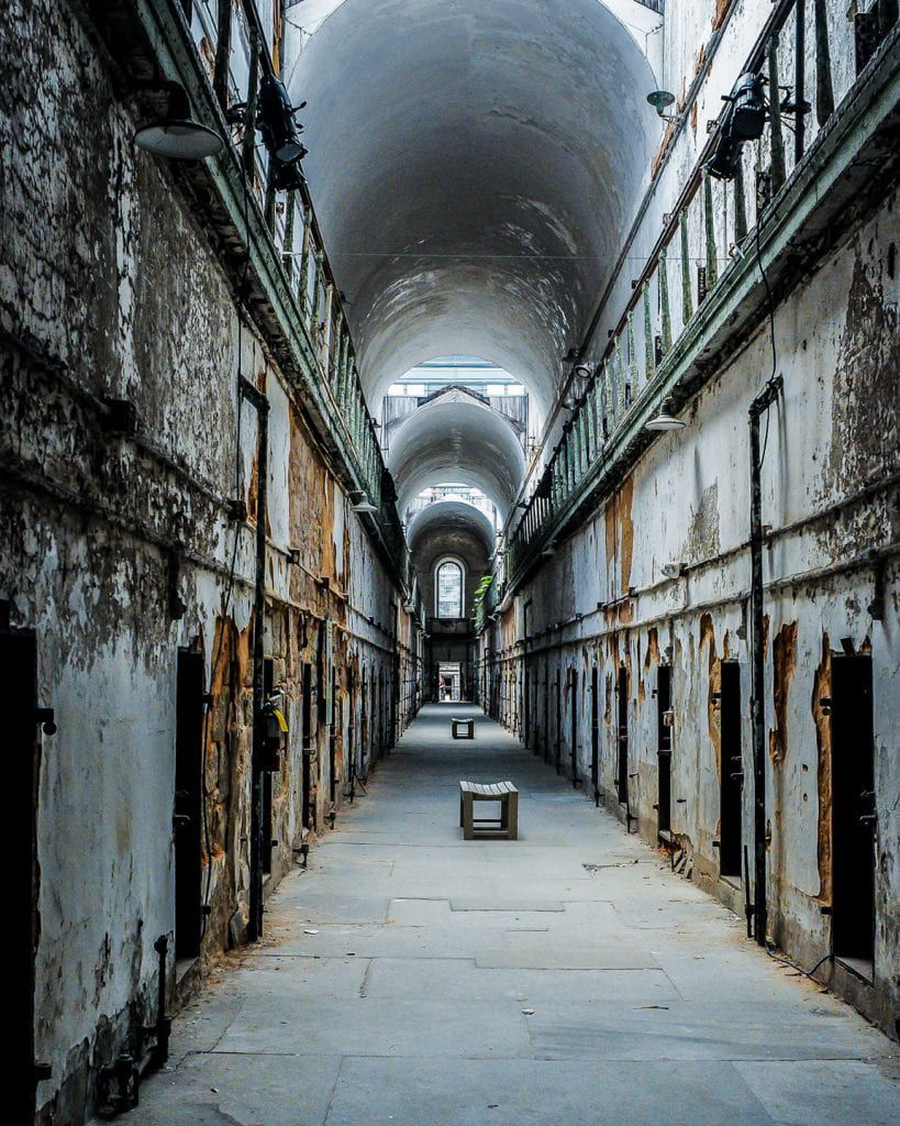 Eastern State Penitentiary Cell Block