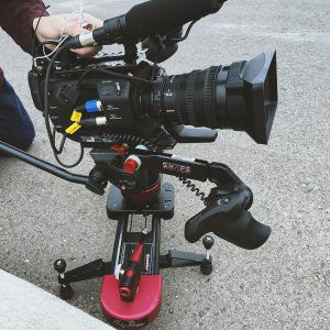 Sony FS-7 on Slider