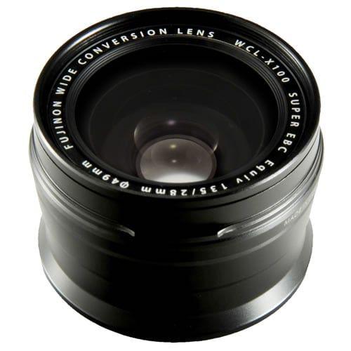 fujifilm X100 Series Black Wide Conversion Lens