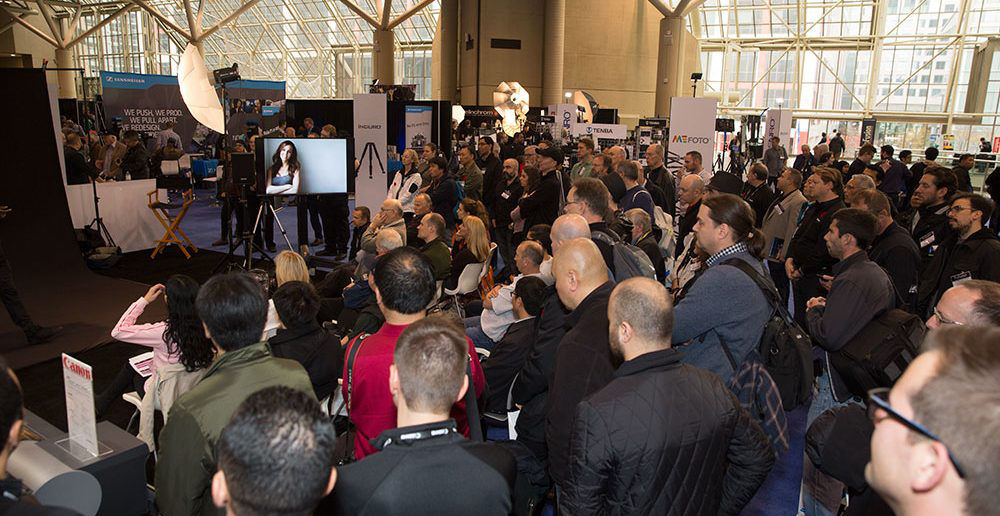 Crowd at Canon Booth ProFusion Expo 2015