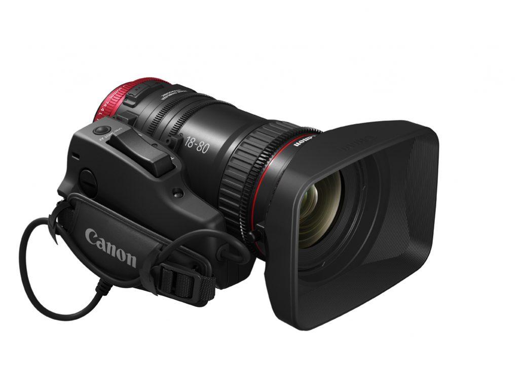 Canon CN-E18-80mm T4.4 L IS KAS S Lens