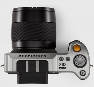 Hasselblad X-1D medium format mirrorless camera