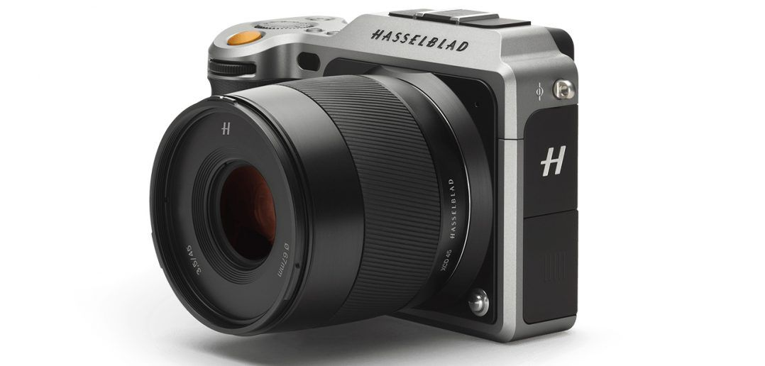 Hasselblad X1D medium format mirrorless camera