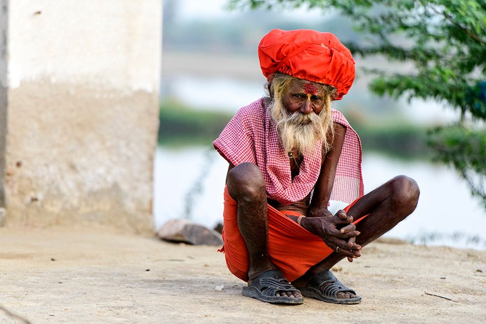 India - Portrait by Robert Hawara