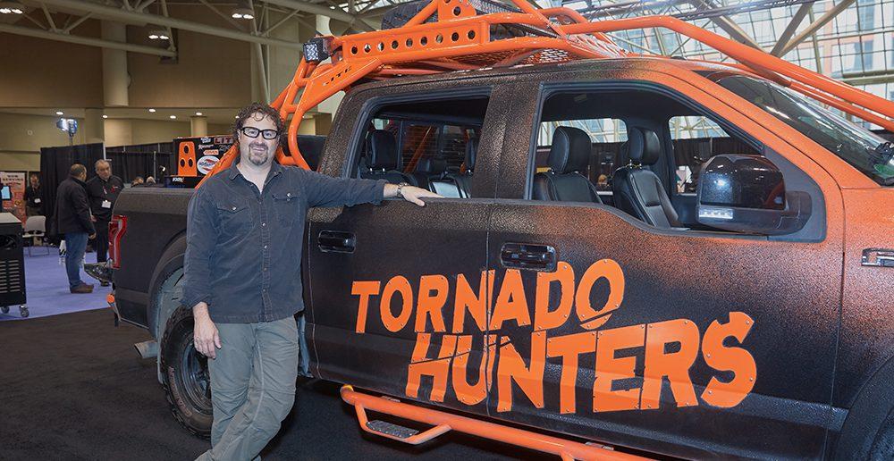 Greg Johnson and Tornado Truck