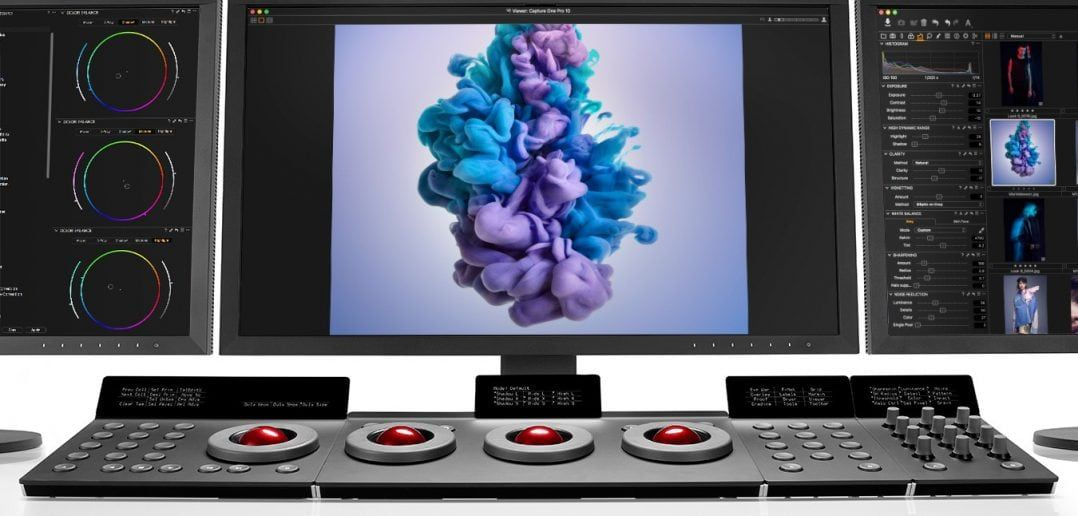Capture One Pro 10 with Tangent System