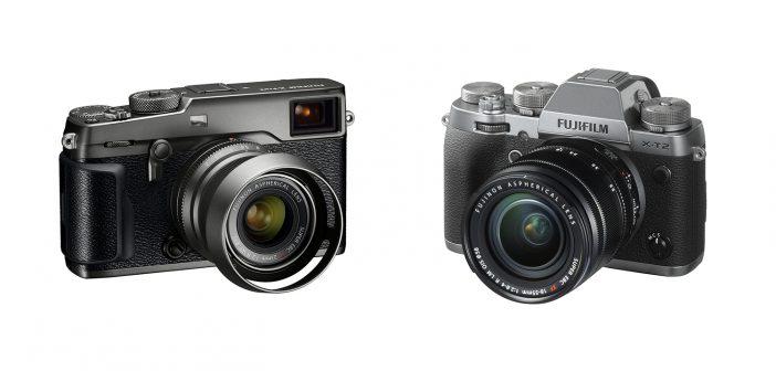 Fuji X-Pro2 and X-T2 Graphite Edition Cameras