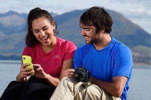 Nikon D7500 in Hands
