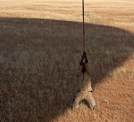 Hang On -Namibia - April 2006 - Michael Reichmann