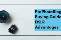Vistek Buying Guides DSLR Advantages Cover