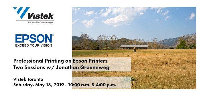 Jonathan Groeneweg Epson Event